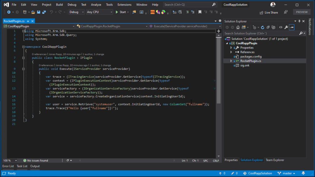 Git Submodules in Visual Studio - my project