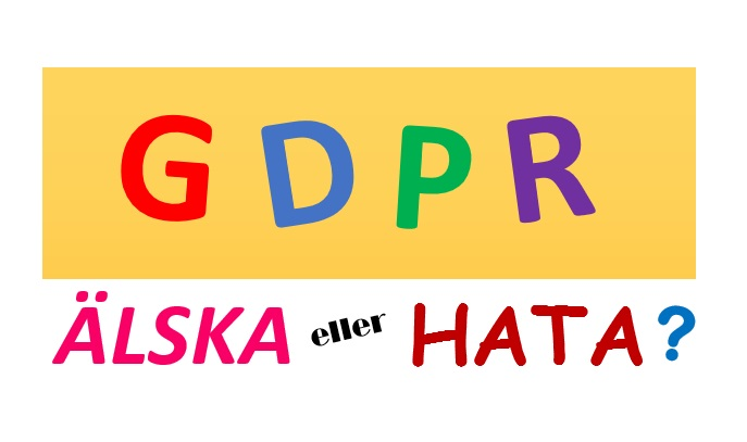 Älska eller hata GDPR
